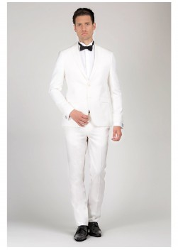 Notch collar slim-fit tuxedo Emmanuelle Khanh