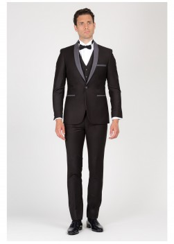 Three-pieces slim fit tuxedo SEVENSON