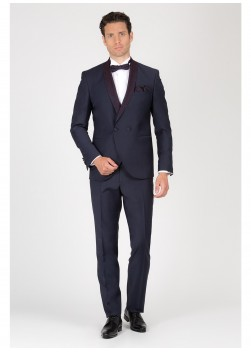 Three-pieces slim-fit tuxedo Emmanuelle Khanh
