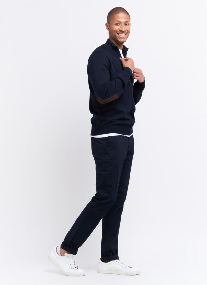 Zipped cardigan by Charles Le Golf