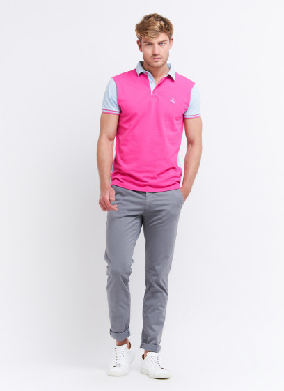 Two-colored polo shirt by Charles Le Golf