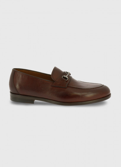 Leather mocassin by Charles Le Golf