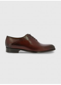 Leather brogue shoe by Charles Le Golf