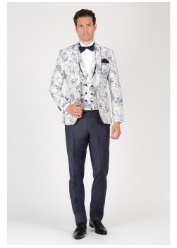 Three-pieces shawl collar tuxedo Emmanuelle Khanh