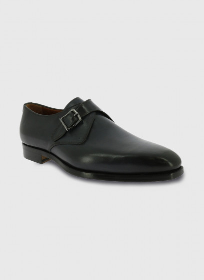 Leather buckle shoe by Charles Le Golf