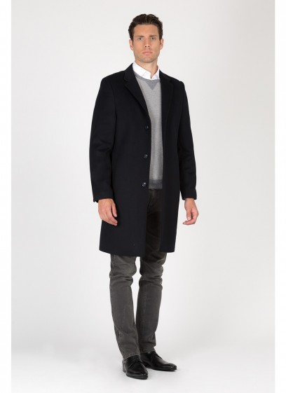 Notch lapel collar Coat Emmanuelle Khanh