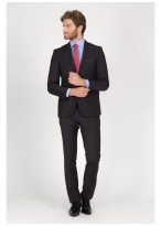 Slim Fit suit Sevenson 24 - Anthracite grey