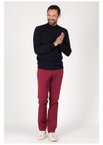 Turtle-neck sweater in blend wool Emmanuelle Khanh