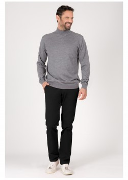 Turtle-neck sweater in wool Emmanuelle Khanh
