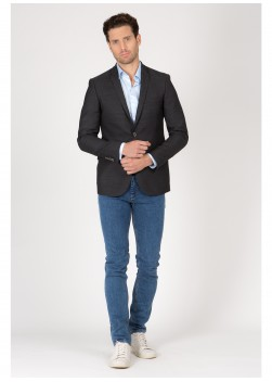 Slim Fit jacket T.G di Fabio
