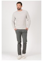 Round neck sweater in blend wool Emmanuelle Khanh
