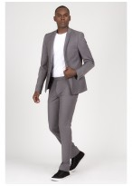 Slim Fit suit Sevenson 22 - Mid Grey