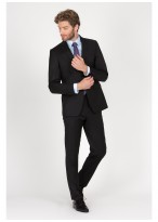 Regular fit suit T.G di Fabio Black - 61U60/1/6