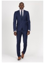 Slim Fit suit Sevenson 83 - Blue