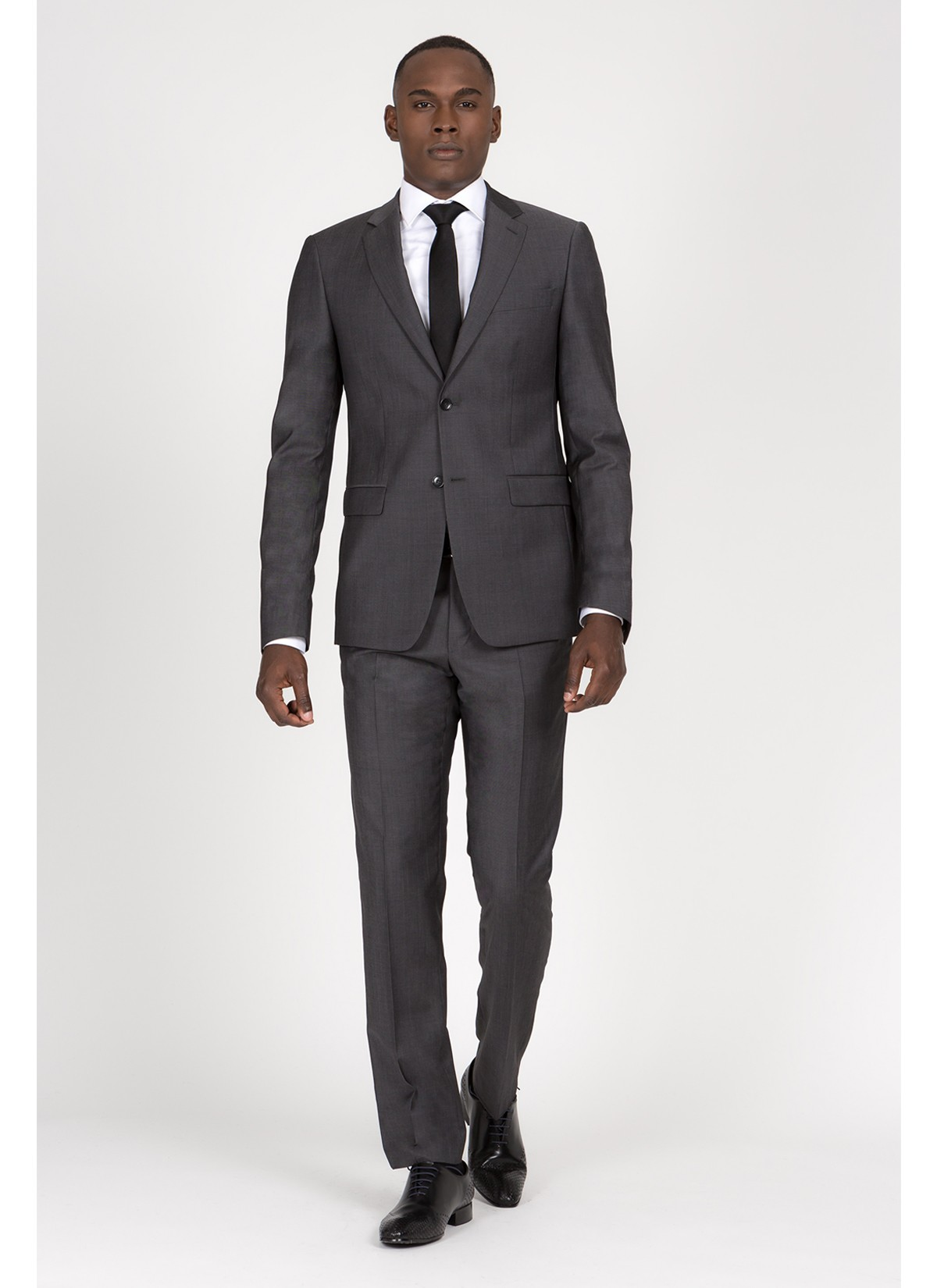 Regular fit suit T.G di Fabio Dark grey - 61U60/1/112
