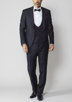 Smoking marine semi-slim fit EK by Emmanuelle KHANH.