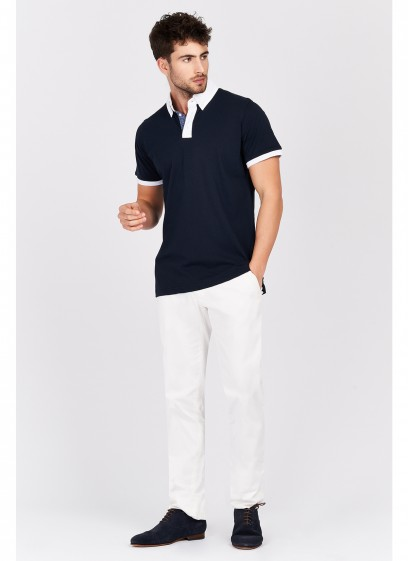 Shirt collar polo shirt Emmanuelle Khanh