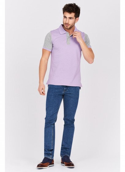 Two-colored polo shirt Emmanuelle khanh