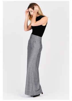 High waisted wide leg trousers Emmanuelle khanh