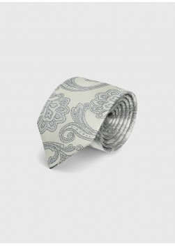 Paisley silk tie by Emmanuelle Khanh