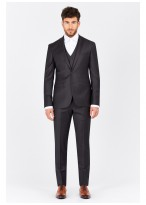 Slim fit suit Emmanuelle Khanh Gris - 50063/107