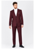 Costume slim fit Sevenson _ Bordeau - 1798/983