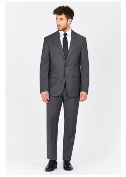 Regular fit suit Lanificio F.ILLI Cerruti DAL 1881 Gris - 8112/4/94