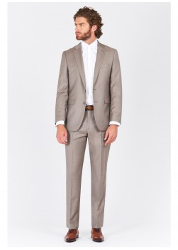 Regular fit suit Lanificio F.ILLI Cerruti DAL 1881 Beige - 8118/2/285
