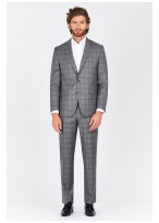 Costume regular fit Lanificio F.ILLI Cerruti DAL 1881 _ Gris - 8118/612/2