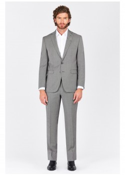 Regular fit suit Lanificio F.ILLI Cerruti DAL 1881 Gris clair - 8118/246
