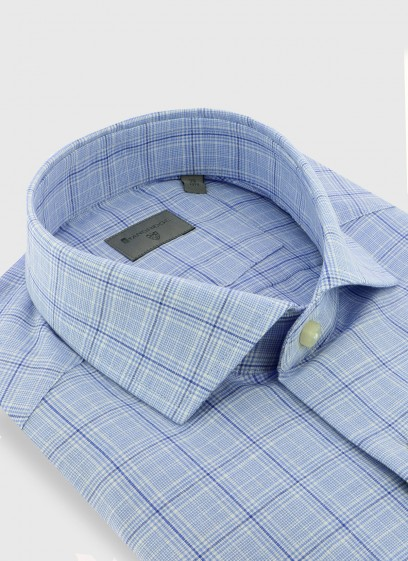 Italian collar slim fit Stanbridge shirt