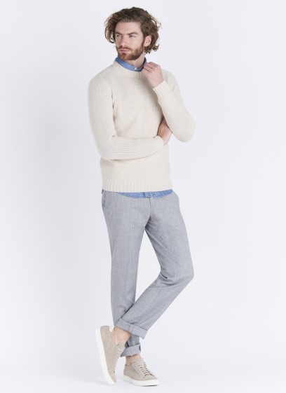 Emmanuelle Khanh round neck wool sweater