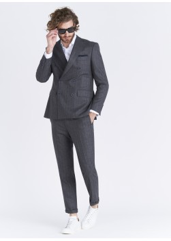 Lanificio F.LLI Cerruti DAL 1881 double breasted Regular fit jacket