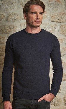 V NECK SWEATER IN WOOL EMMANUELLE KHANH